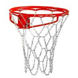 Rede basquetebol metálica