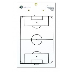 Placa tática futebol