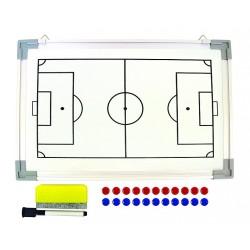 Quadro tático futebol 30x45