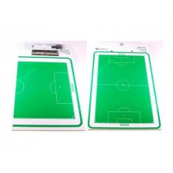 Placa tática dupla futebol 11